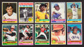 Baseball Cards:Sets, 1976 Topps Baseball Mid To High Grade Complete Set (660). ...