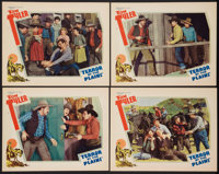 "Terror of the Plains (William Steiner, 1934). Lobby Cards (4) (11"" X 14""). Western. ... (Total: 4 Items)"