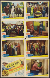 "Hoppy's Holiday (United Artists, 1947). Lobby Card Set of 8 (11"" X 14""). Western. ... (Total: 8 Items)"