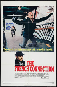 """The French Connection (20th Century Fox, 1971). One Sheet (27"""" X 41""""). Action"""