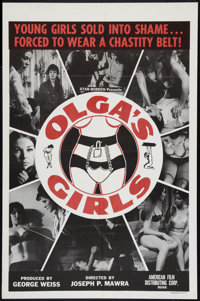 "Olga's Girls Lot (AFDC, 1964). One Sheets (2) (27"" X 41""). Sexploitation. ... (Total: 2 Item)"