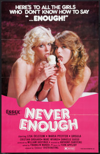 "Never Enough Lot (Essex, 1983). One Sheets (2) (23.25"" X 36.5""). Adult. ... (Total: 2 Items)"