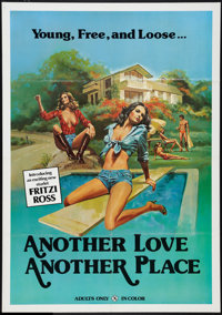 "Another Love, Another Place Lot (Artemis, 1978). One Sheets (2)/ (28"" X 40""). Adult. ... (Total: 2 Items)"