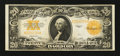 Large Size:Gold Certificates, Fr. 1187 $20 1922 Gold Certificate Very Fine.. ...