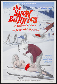 """The Snow Bunnies Lot (SCA, 1972). One Sheets (2) (28"""" X 42""""). Sexploitation. ... (Total: 2 Items)"""