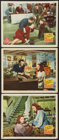 "Movie Posters:Film Noir, Leave Her to Heaven (20th Century Fox, 1945). Lobby Cards (3) (11""X 14""). Film Noir.. ... (Total: 3 Items)"