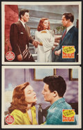 """Movie Posters:Film Noir, Leave Her to Heaven (20th Century Fox, 1945). Lobby Cards (2) (11""""X 14""""). Film Noir.. ... (Total: 2 Items)"""