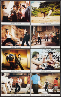 "Return of the Dragon (Bryanston, 1974). Lobby Card Set of 8 (11"" X 14""). Action. ... (Total: 8 Items)"
