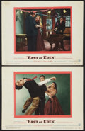 """Movie Posters:Drama, East of Eden (Warner Brothers, 1955). Lobby Cards (2) (11"""" X 14"""").Drama.. ... (Total: 2 Items)"""