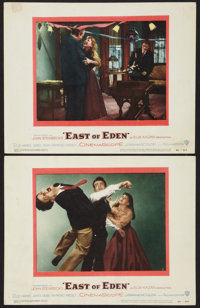 "East of Eden (Warner Brothers, 1955). Lobby Cards (2) (11"" X 14""). Drama. ... (Total: 2 Items)"