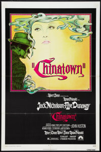 "Chinatown (Paramount, 1974). One Sheet (27"" X 41""). Mystery"