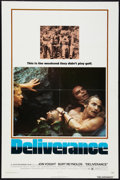 """Movie Posters:Action, Deliverance (Warner Brothers, 1972). One Sheet (27"""" X 41"""") and Pressbook (11"""" X 14""""). Action.. ... (Total: 2 Items)"""