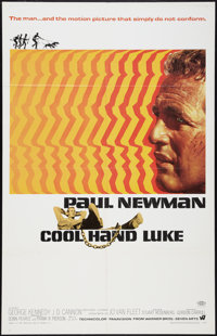 "Cool Hand Luke (Warner Brothers, 1967). One Sheet (27"" X 41""). Drama"