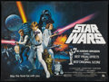 """Movie Posters:Science Fiction, Star Wars (20th Century Fox, 1977). British Quad (30"""" X 40"""").Academy Award Style C. Science Fiction.. ..."""