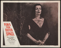 "Plan 9 from Outer Space (DCA, 1956). Lobby Card (11"" X 14""). Science Fiction"