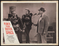 """Plan 9 from Outer Space (DCA, 1956). Lobby Card (11"""" X 14""""). Science Fiction"""