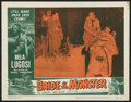 "Movie Posters:Horror, Bride of the Monster (Filmmakers Releasing, 1956). Lobby Card (11""X 14""). Horror.. ..."
