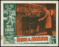 "Bride of the Monster (Filmmakers Releasing, 1956). Lobby Card (11"" X 14""). Horror"