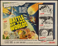 """Movie Posters:Science Fiction, Battle of the Worlds (Topaz, 1963). Half Sheet (22"""" X 28""""). ScienceFiction.. ..."""