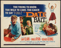 "Movie Posters:Bad Girl, Date Bait (Film Group, 1960). Half Sheet (22"" X 28""). Bad Girl.. ..."