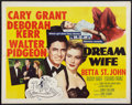"Movie Posters:Comedy, Dream Wife (MGM, 1953). Half Sheet (22"" X 28"") Style A. Comedy....."