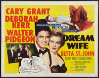 "Dream Wife (MGM, 1953). Half Sheet (22"" X 28"") Style A. Comedy"