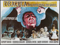 "Movie Posters:Horror, Dracula Has Risen From the Grave (Warner Brothers, 1969). BritishQuad (30"" X 40""). Horror.. ..."