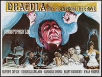 """Dracula Has Risen From the Grave (Warner Brothers, 1969). British Quad (30"""" X 40""""). Horror"""