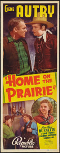 """Movie Posters:Western, Home on the Prairie (Republic, 1939). Insert (14"""" X 36""""). Western.. ..."""