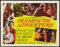 """Movie Posters:Adventure, Plymouth Adventure (MGM, 1952). Half Sheet (22"""" X 28"""") Style A.Adventure.. ..."""