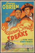 "Movie Posters:Western, Whispering Smith Speaks (Fox, 1935). One Sheet (27"" X 41""). Western.. ..."