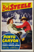 "Movie Posters:Western, Pinto Canyon (Metropolitan, 1940). One Sheet (27"" X 41""). Western.. ..."