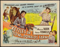 """Movie Posters:Comedy, The Kettles on Old MacDonald's Farm (Universal International,1957). Half Sheet (22"""" X 28""""). Comedy.. ..."""