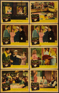 "Movie Posters:Comedy, The More the Merrier (Columbia, 1943). Lobby Cards (8) (11"" X 14"").Comedy.. ... (Total: 8 Items)"