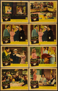 "The More the Merrier (Columbia, 1943). Lobby Cards (8) (11"" X 14""). Comedy. ... (Total: 8 Items)"