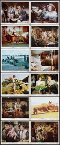 "Movie Posters:Adventure, Hatari! (Paramount, 1962). Color Photo Set of 12 (8"" X 10"").Adventure.. ... (Total: 12 Items)"