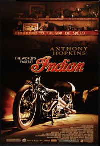 "The World's Fastest Indian (Magnolia Pictures, 2005). One Sheet (27"" X 39.75""). SS Style B. Adventure"