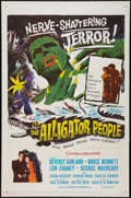 "The Alligator People (20th Century Fox, 1959). One Sheet (27"" X 41""). Horror"