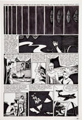 Original Comic Art:Panel Pages, Jaime Hernandez Love and Rockets #2 page 23 Original Art(Fantagraphics, 1983)....