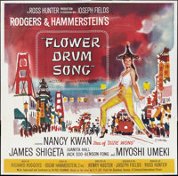 "Flower Drum Song (Universal, 1961). Six Sheet (81"" X 81""). Musical"
