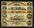Obsoletes By State:South Carolina, Two Different Charleston, South Carolina Banks.. ... (Total: 4 notes)