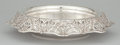 Silver Holloware, American:Bowls, AN AMERICAN SILVER CENTER BOWL WITH PIERCED ROLL-OVER RIM . BlackStarr & Frost, New York, New York, circa 1900. Marks:BL...