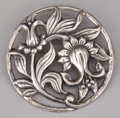 Silver Smalls:Other , AN AMERICAN SILVER BROOCH . Danecraft, Providence, Rhode Island,circa 1945. Marks: DANECRAFT, STERLING. 2-1/4 inches di...