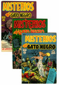 Golden Age (1938-1955):Horror, Misterios del Gato Negro File Copies Group (Harvey, 1953-55)Condition: Average FN+.... (Total: 19 Comic Books)