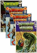 Bronze Age (1970-1979):Horror, Swamp Thing #1, 2, and 6 Group (DC, 1972-73).... (Total: 4 ComicBooks)