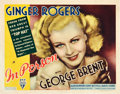 "Movie Posters:Comedy, In Person (RKO, 1935). Title Lobby Card (11"" X 14"").. ..."