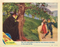 """Movie Posters:Fantasy, The Wizard of Oz (MGM, R-1949). Autographed Lobby Card (11"""" X14"""").. ..."""