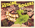 "Movie Posters:Musical, Swing Time (RKO, 1936). Half Sheet (22"" X 28"").. ..."