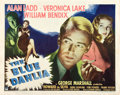 "Movie Posters:Film Noir, The Blue Dahlia (Paramount, 1946). Half Sheet (22"" X 28"") Style A....."