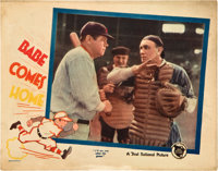 "Babe Comes Home (First National, 1927). Lobby Card (11"" X 14"")"